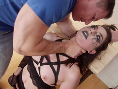 One monster cock can't please kinky Keira Croft anymore