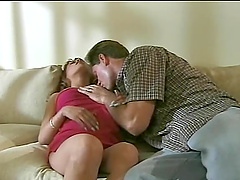 A redhead MILF gets fucked rough in her tight asshole