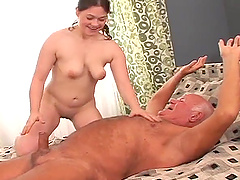 Dirty Old vs Young Sex Starring Grandpa Cocksthrill And Lara e